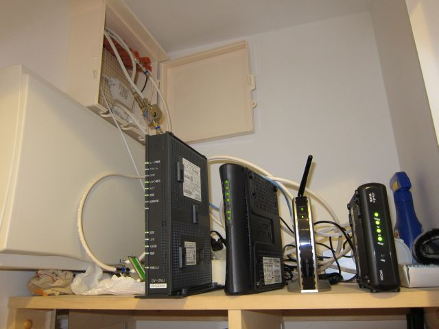 ONU, router and cable equipment